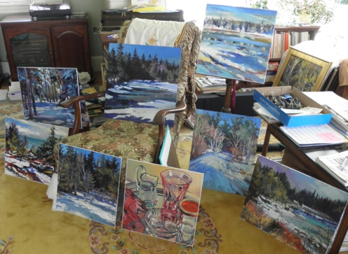 paintings from Schoodic